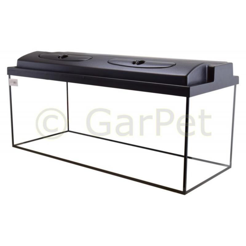 aquarium rechteckig mit abdeckung inkl t8 beleuchtung 214 95. Black Bedroom Furniture Sets. Home Design Ideas