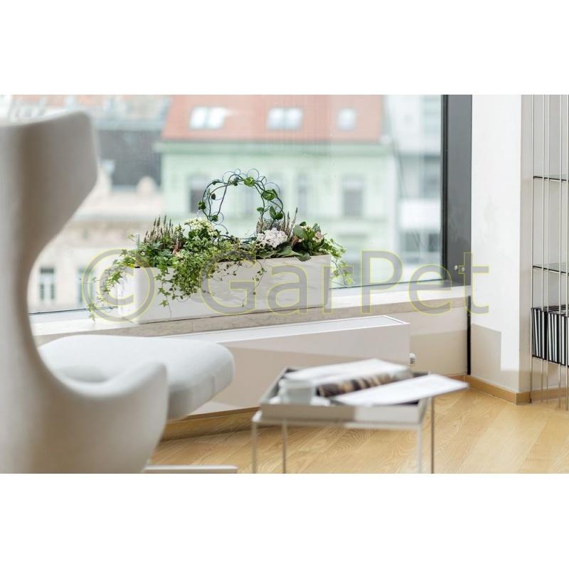 blumenkasten bew sserungssystem und halterung modern. Black Bedroom Furniture Sets. Home Design Ideas