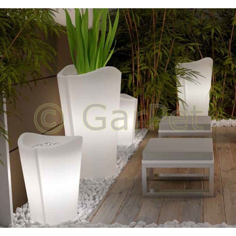 beleuchtete pflanzk bel outdoor indoor rund g nstig 161 95. Black Bedroom Furniture Sets. Home Design Ideas