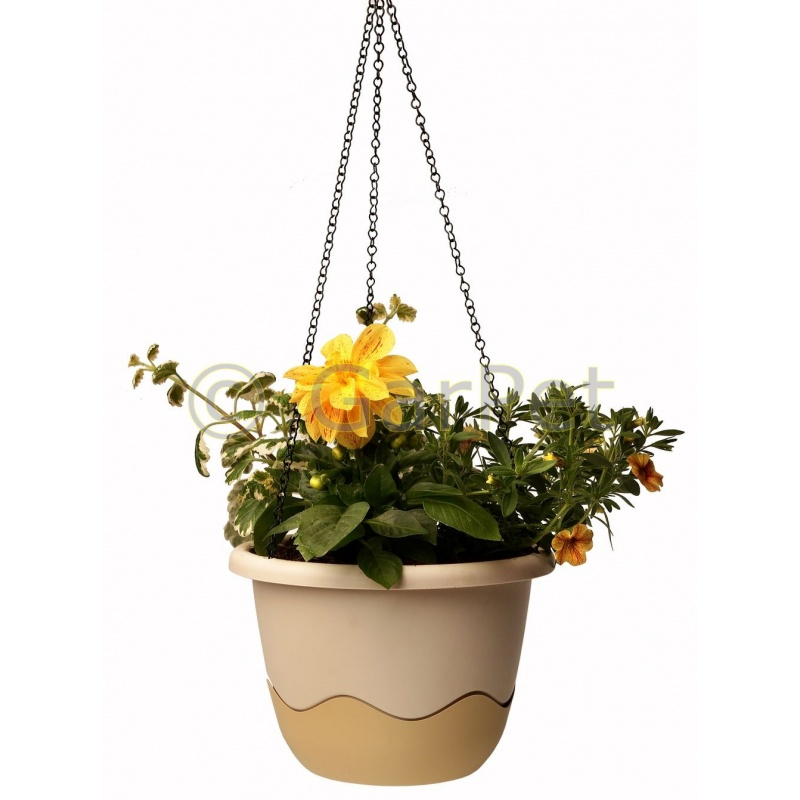 Blumentopf mit Bewässerungssystem Blumenampel Mareta