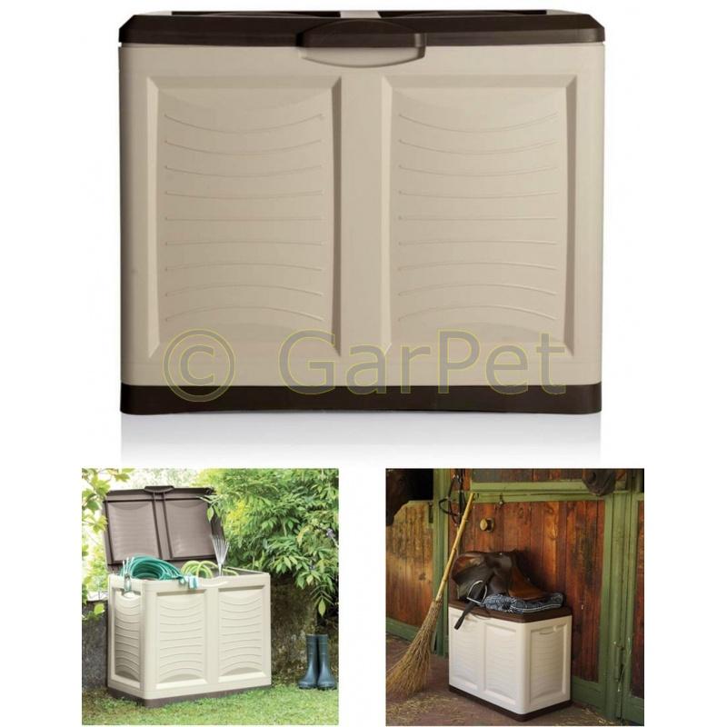 Garten Auflagenbox Kissenbox Gartenbox Kiste 200 L 4495