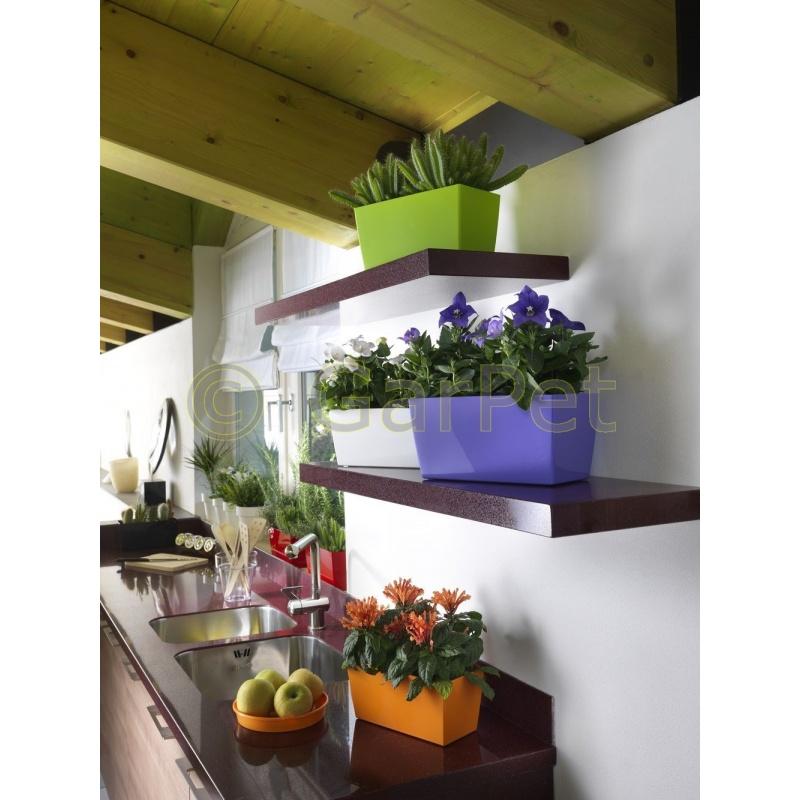 blumentopf bertopf kunststoff kr utertopf fensterbank. Black Bedroom Furniture Sets. Home Design Ideas