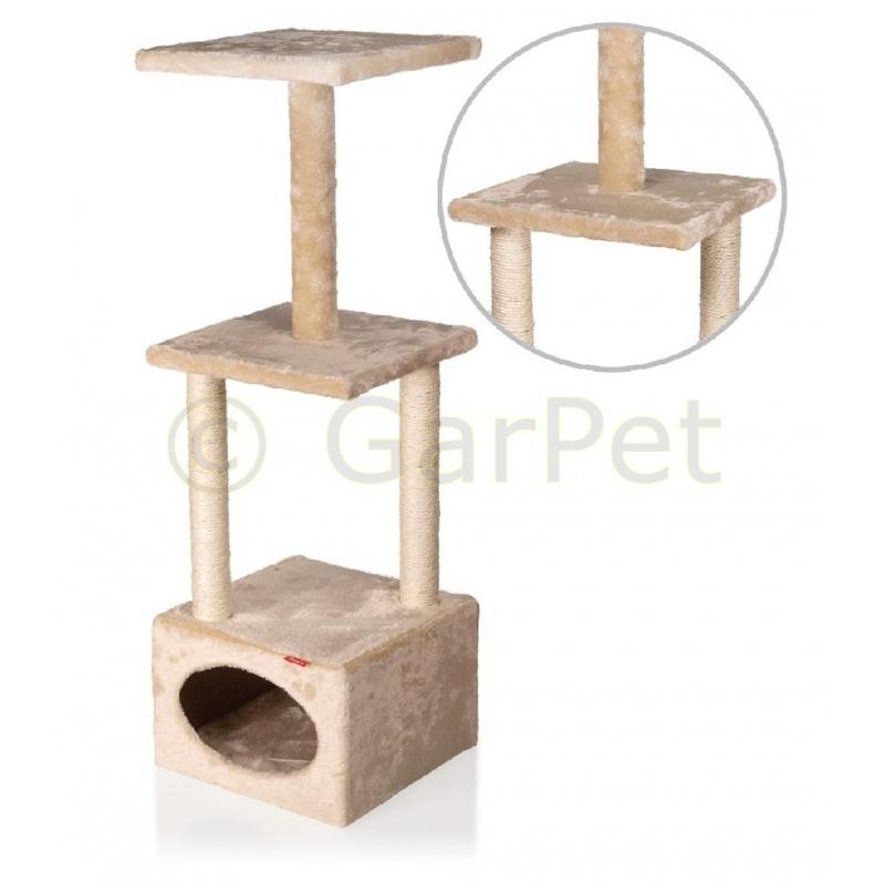 katzen kratzbaum katzenm bel kletterbaum g nstig 26 95. Black Bedroom Furniture Sets. Home Design Ideas
