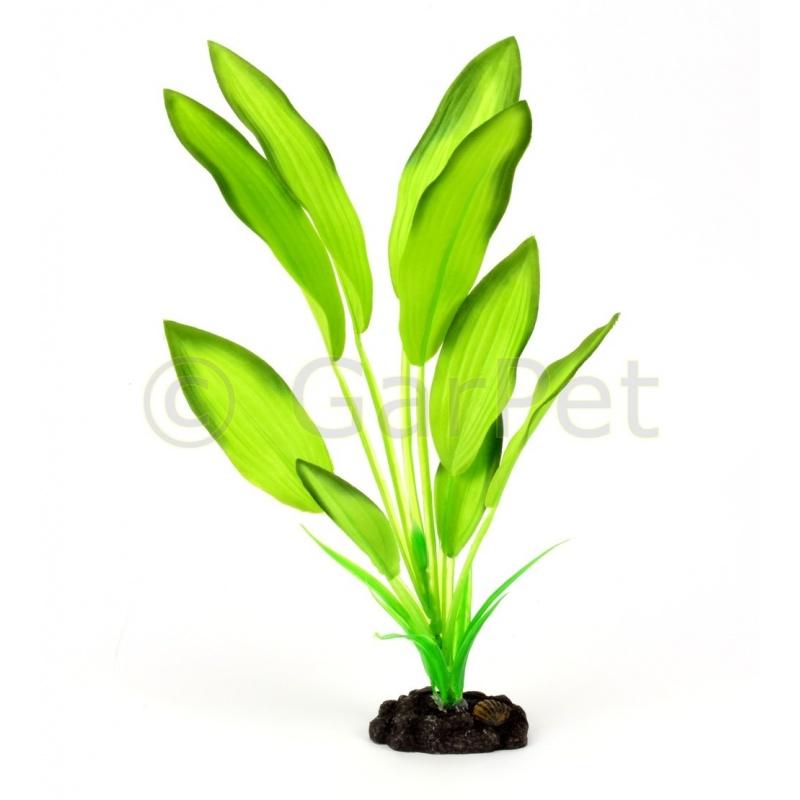 k nstliche aquariumpflanze aus seide g nstig bei garpet 4 95. Black Bedroom Furniture Sets. Home Design Ideas