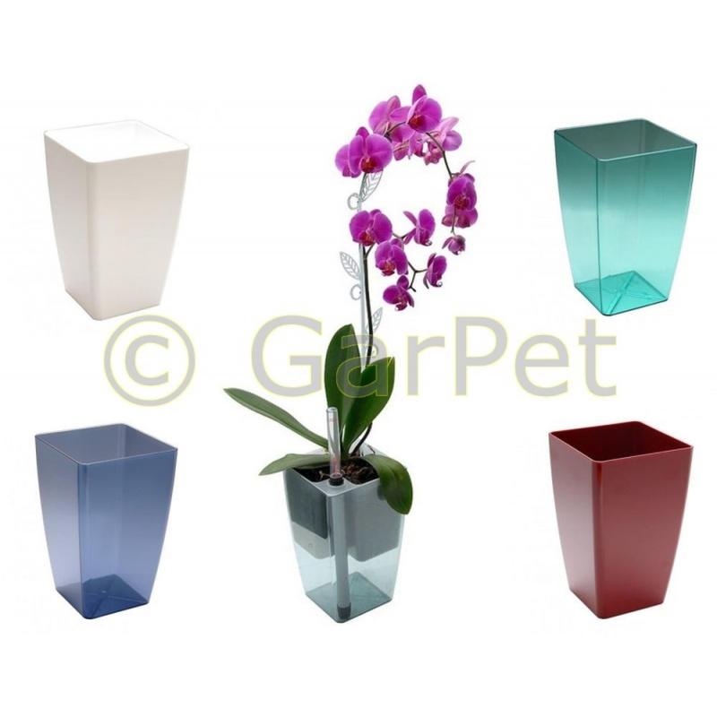 orchideentopf blumentopf selbstw ssernd durchsichtig. Black Bedroom Furniture Sets. Home Design Ideas