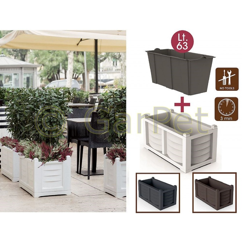pflanzk bel raumteiler gro terrasse frostsicher g nstig. Black Bedroom Furniture Sets. Home Design Ideas