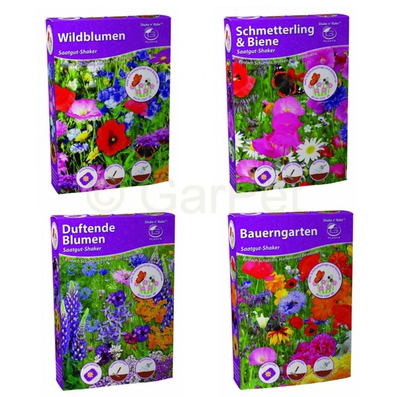 Blumen Samen Saatgut Mix Mischung wunderschön und bunt
