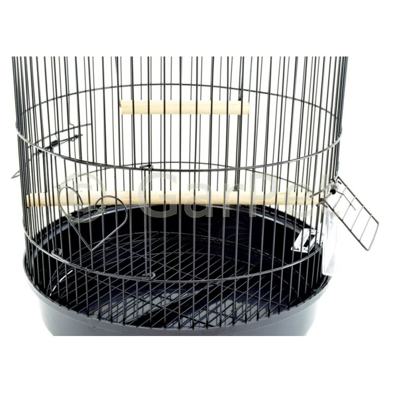 vogelk fig wellensittich k fig schwarz g nstig 22 45. Black Bedroom Furniture Sets. Home Design Ideas
