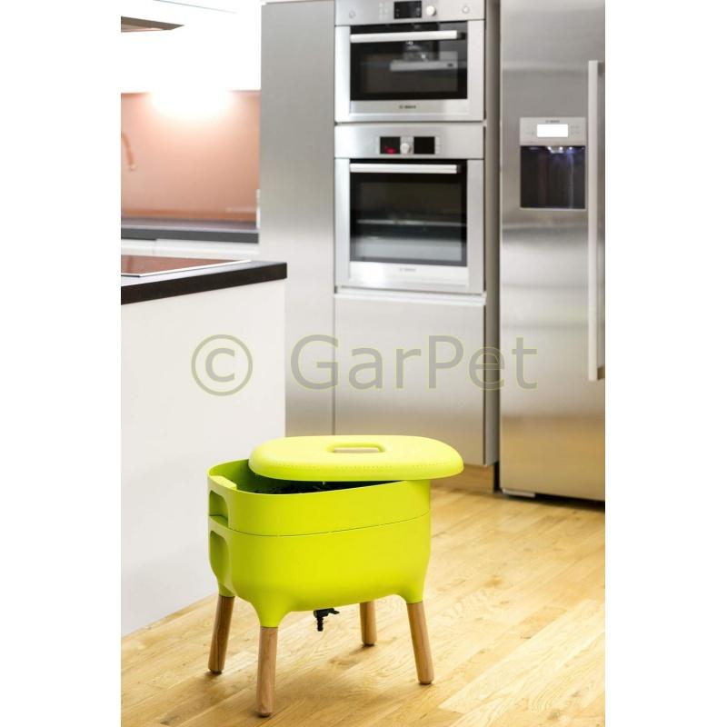 wurmkomposter urbalive k che wohnung balkon komposter. Black Bedroom Furniture Sets. Home Design Ideas