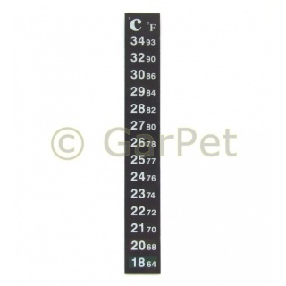 Aquarium Terrarium Digital Klebe- Thermometer