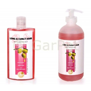 TC LONG & CURLY HAIR Shampoo + Balsam  Hunde langem lockigem Fell