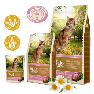 Sam´s Field Cat Delicious Wild Katzenfutter