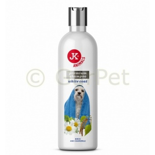 Shampoo for light coat with softening effects, premium shampoo for dogs