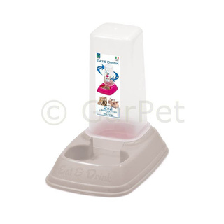 Futterspender 2in1 Wasserspender 700 ml