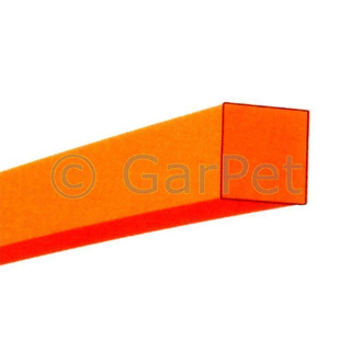 Trimmerfaden 4 Kant quadrat orange 2,0 mm 15 m